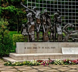 Nationale Viering einde Tweede Wereldoorlog