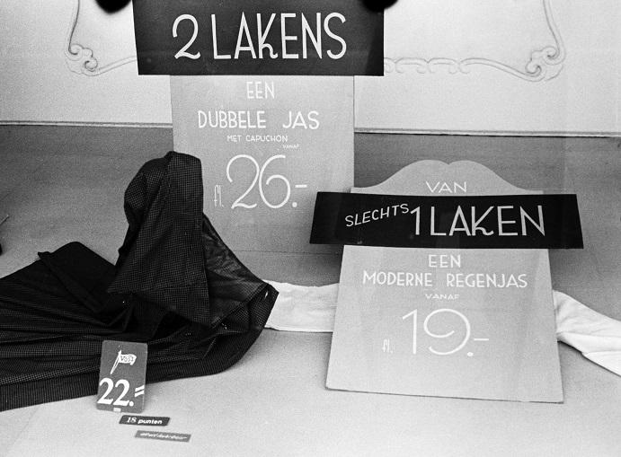 Inventief met naald en draad: Mode 1940-1945