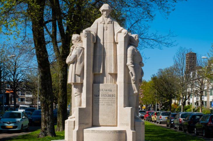 foto - Julians van Stolberg Monument VV